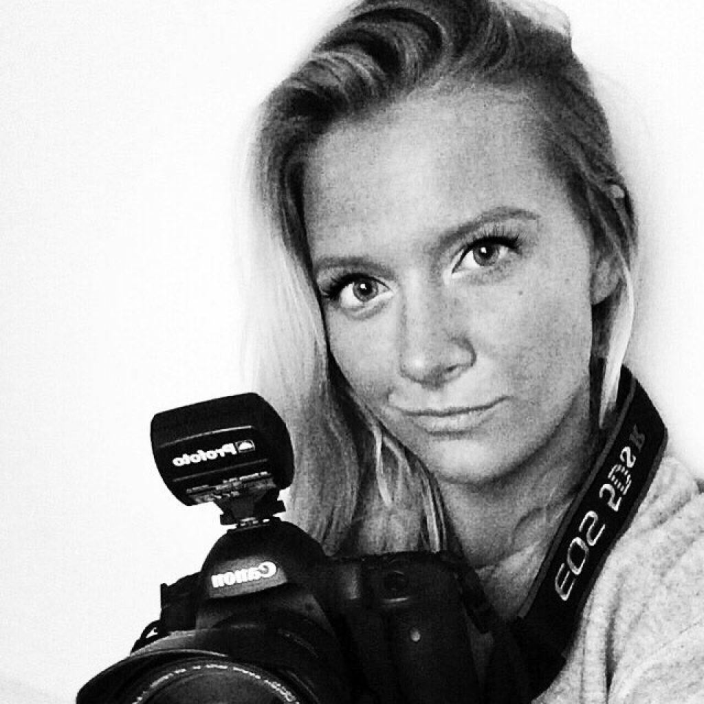 Porträtt på Fotograf Viveca Karström Encrantz